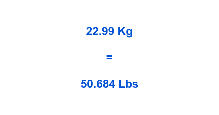 2299 Kg To Lbs