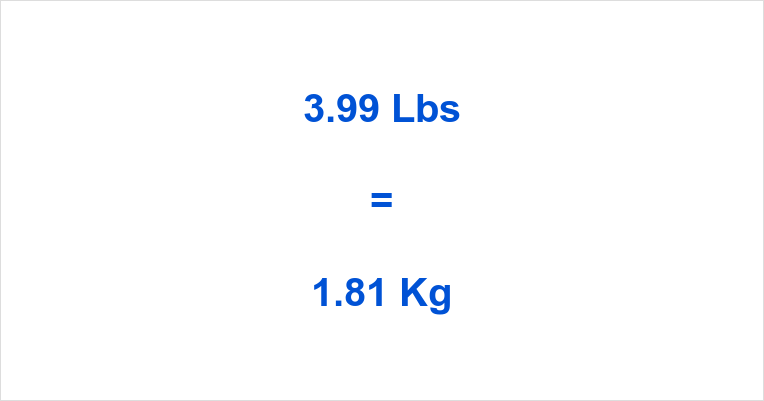 399 Lbs To Kg